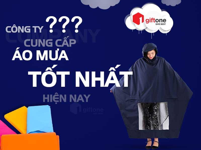 Công ty cung cấp áo mưa