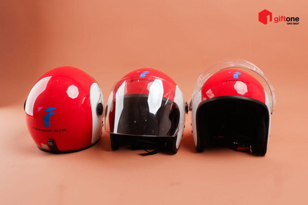mũ bảo hiểm quà tặng